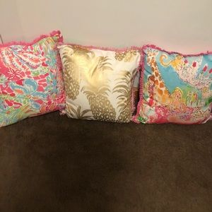 Lilly Pulitzer Throw Pillows